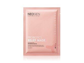 NEOGEN Probiotics Relief Mask ujędrniająco-rozświetlająca maseczka w płacie