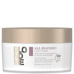 SCHWARZKOPF BlondMe All Blondes Light Mask lekka odżywcza maska 200ml