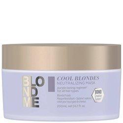 SCHWARZKOPF BlondMe Cool Blondes Neutralizing Mask maska neutralizująca 200ml