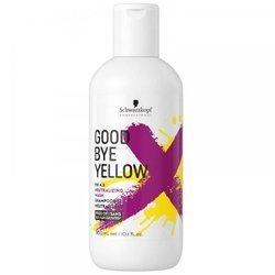 SCHWARZKOPF Goodbye Yellow szampon do włosów blond neutralizujący żółte odcienie 300ml