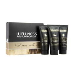 WELLNESS PREMIUM PRODUCTS Wellplex mini zestaw (szampon 50ml, odżywka 50ml, maska 50ml)